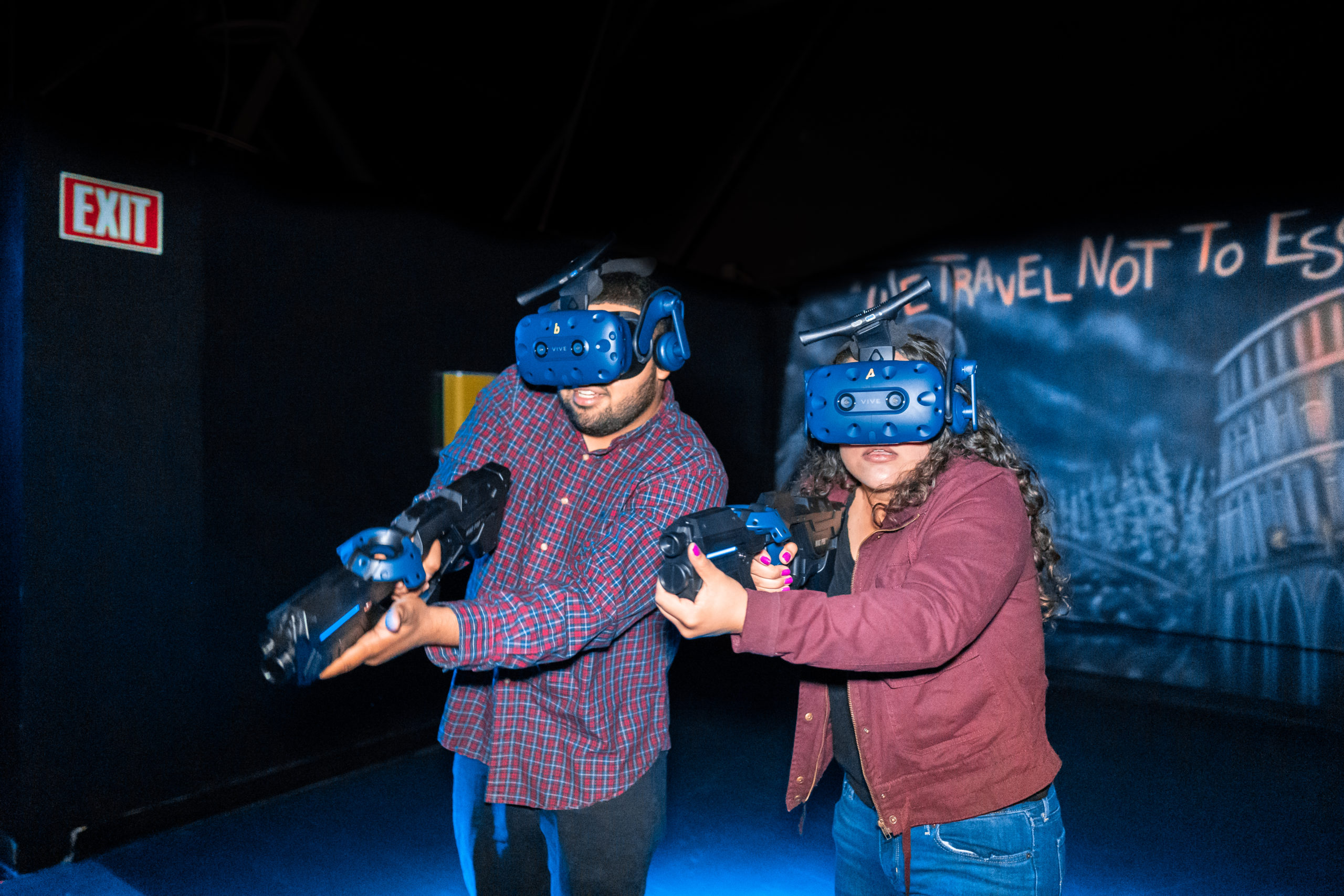 Virtual Reality - Glo Mini Golf, Riverside, CA
